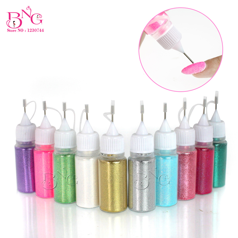 Shimmer crystal multic and magic glitter powder jet for Avon nail decoration tool
