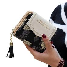 Ausgezeichnete Qualität Damen Geldbörse Leder Weinlese-frauen Bifold Geldbeutel-kartenhalter Bifold Weibliche Geldbörse Für Geschenk 2016 Neue(China (Mainland))
