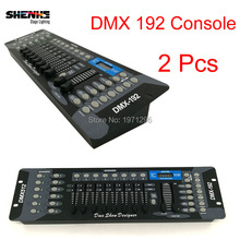 Buy 2 Pcs DMX Controller DMX 192 Controller Stage Lighting DMX 512 Controller DJ Controller Equipment LED Par Moving Head for $95.00 in AliExpress store