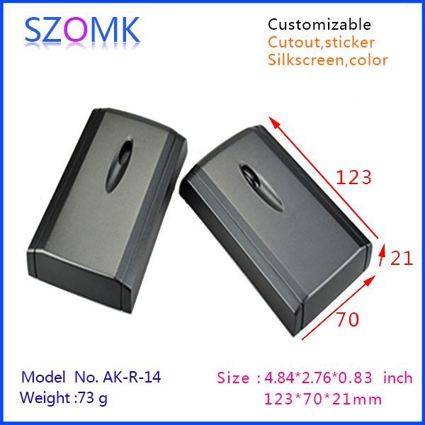 plastic electrical project box IC card reader enclosure (10 pcs) 123*70*21mm distribution box plastic box electronics, case box<br><br>Aliexpress