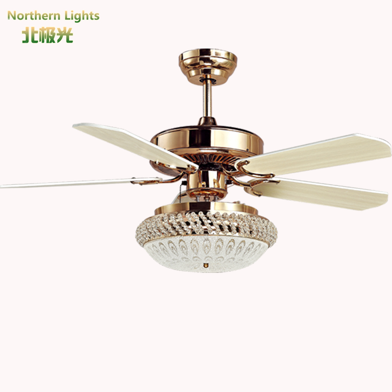 Vintage Ceiling Fans With Lights : Led modern wrongt iron ceiling fan light fashion antique