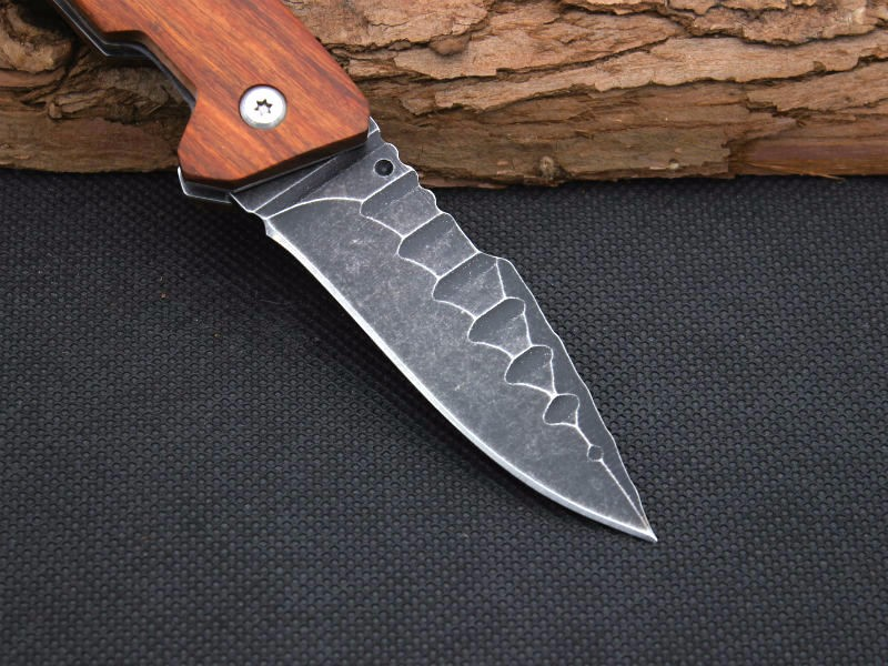 Buy New Folding Knife HERBERTZ Survival Knifes 420ss Steel Blade Pocket Hunting Tactical Knives Camping Outdoor EDC Tools Y2 cheap