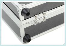 2pcs Hot charger aluminum box applicable IMAX B6 A6 BC168 charger kit case Free Shipping(China (Mainland))