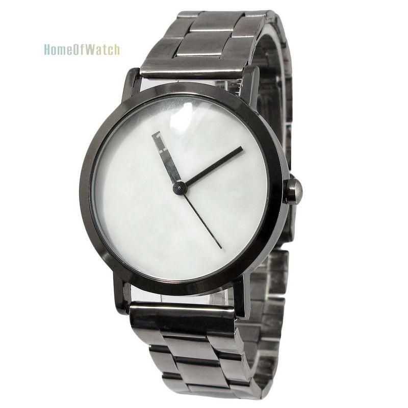2016 New Brand Women's Fashion Simple Display Dial Wrist Watch Grid Stainless Steel Bracelet Quartz Watch (NBW0QU8094-BW2)(China (Mainland))