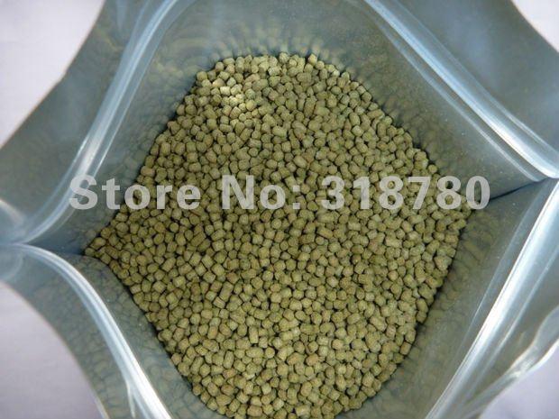 480g protein 43 goldfish floating pellets veggie for Spirulina fish food