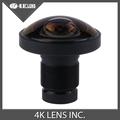 4K LENS 1 2MM Fisheye Lens 220Degree IR 1 2 3 Inch 16MP M12 Mount for