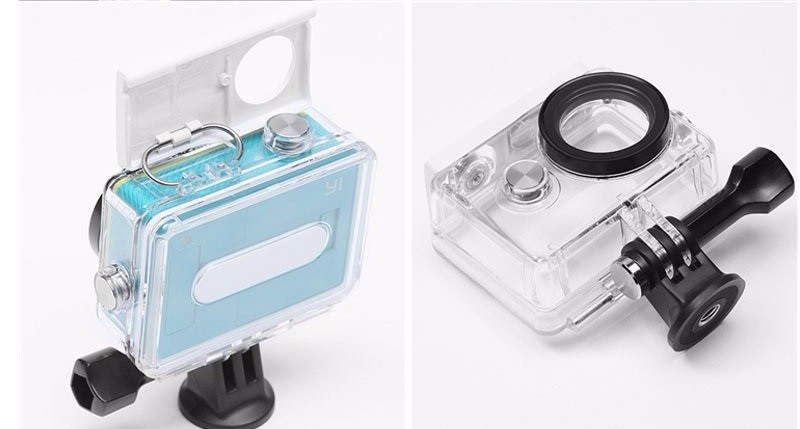 Original Xiaomi Yi Camera Waterproof Case,Yi 40M Diving action & Sports Waterproof Box, Yi Camera Accessories and Parts