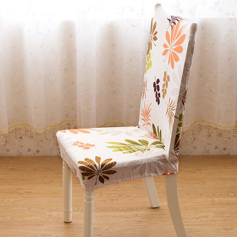 dining room jacquard poyester spandex fabric chair covers antifouling