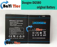 Doogee DG580 аккумулятор 100% оригинальный 2500 мАч резервный аккумулятор для DOOGEE DG580 смартфон в наличии + бесплатная доставка