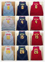 2016 Atlanta Basketball 15 Al Horford Jerseys 26 Kyle Korver 0 Jeff Teague 4 Paul Millsap Jersey Shirt Red Gray White Good(China (Mainland))