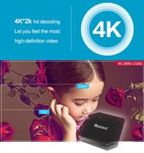T9S Plus tv box2G/16G Android 5.1 Smart TV CAJA Amlogic S905 Quad Core KODI H.265 Miracast 4 K UHD 3D 2.4G/5G WiFi decodificador