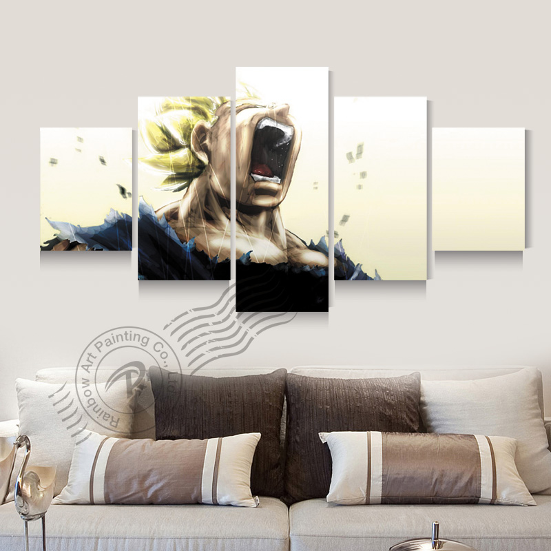 Surrealism painting promotion shop for promotional for Dragon ball z living room