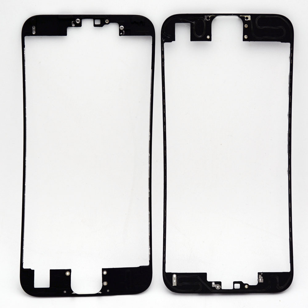1Front LCD Frame Hot Glue iPhone 6S touch screen Display Bracket Housing Middle Bezel White/Black - Cell Phone Repair store