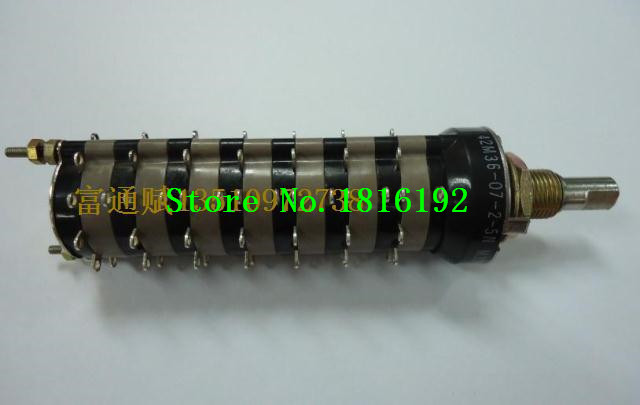 Imported luxury GRAYHILL sealed rotary switch band switch changeover switch 7 layer 14 knife 5 files(China (Mainland))