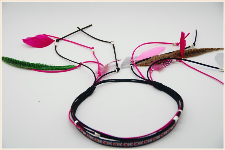 2015 Newest Style Women Fashion Peacock Elastic Hair Band pendant Hair Accessories CO008(China (Mainland))