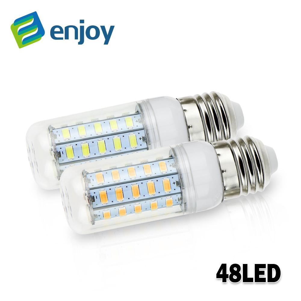Led Lamp E27 5730 220V 230V 240V 5W 7W 9W 12W 15W 18W 20W 25W LED Lights Corn Led Bulb Christmas Chandelier Candle Lighting(China (Mainland))