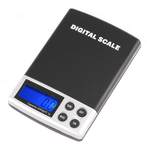 High Quality Portable LCD Electronic Digital Pocket Jewelry Scales Diamond Balance Weight Weighing Scale 2000g/0.1g(China (Mainland))