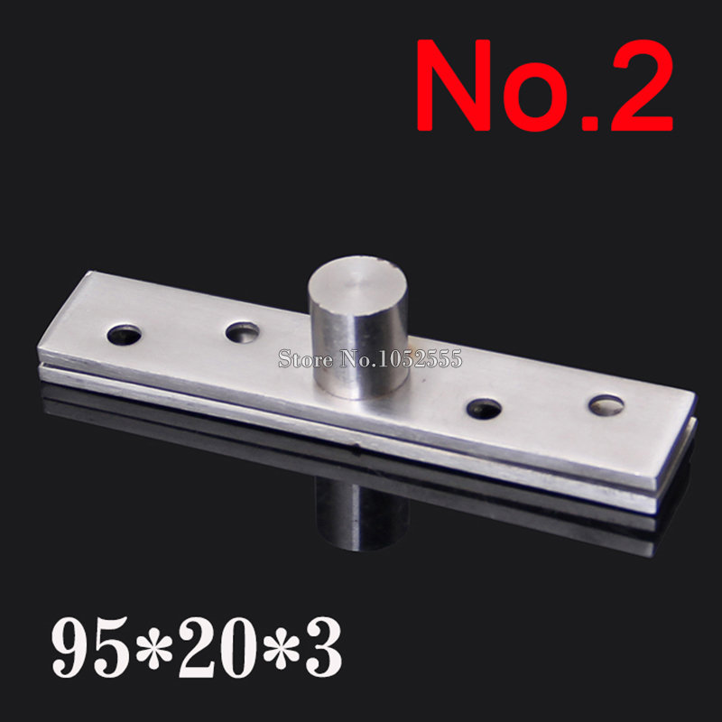 2pcs Stainless Steel 95*20*3.0mm Door Hinges 360 Degree Upper and Lower Hinge Rotating Door Pivot Hinges K186(China (Mainland))