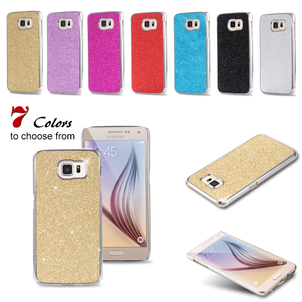 100pcs/lot Free DHL Wholesale S6 Cover Bling Luxury PC Plating Case For Samsung Galaxy S6 G9200 Hard Back Cool Cover AAA05443(China (Mainland))