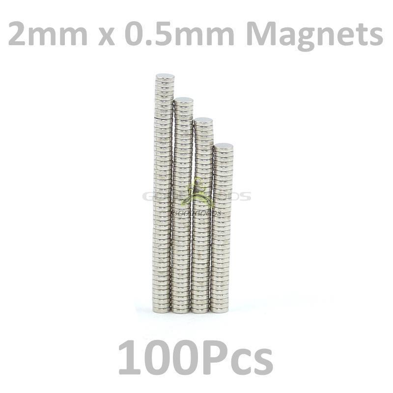 Гаджет  In Stock New 100Pcs tiny Neodymium disc magnets 2mm dia x 0.5mm N35 craft fridge diy magic Free Shipping None Строительство и Недвижимость