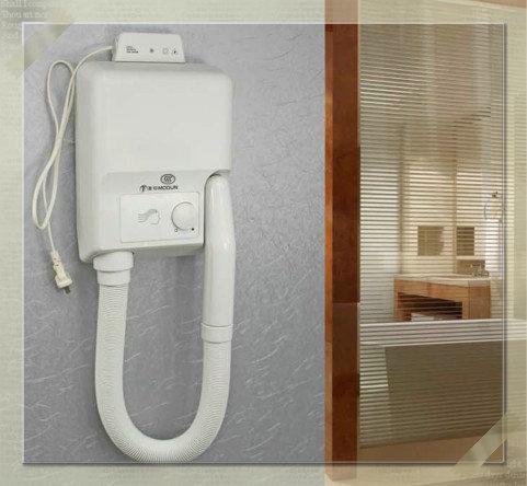 bathroom wall-mounted dry skin hair dryer hair dryer supplies wall bathroom faucet(China (Mainland))