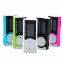 Mini 1.3 LCD Display MP3 Player Clip Type Portable MP3 Player With Speaker Function Support TF Card Flashlight Brand new(China (Mainland))