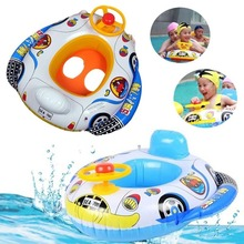 Funny Kids Baby Inflatable Swimming Pool Ring Child Inflatable Swimming laps Pool Swim Ring Seat Float Boat Water Sports(China (Mainland))