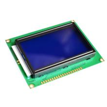 128*64 DOTS LCD module 5V blue screen 12864 LCD with backlight ST7920 Parallel port(China (Mainland))