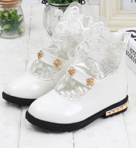 Girl 2015 new arrival childrens spring shoes for girls Martin single boots patent leather boots waterproof boots Korean tide 8a<br><br>Aliexpress