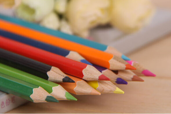 New Arrive Korea Style Lovely Colored Pencils, 12pcs/set, 18pcs/set, 24pcs/set Color Pencil, Free