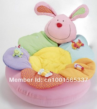 In Stock !!!! Free Shipping ELC Blossom Farm Sit Me Up Cosy-Baby Seat,Baby Play Mat/Small Baby game pad Come with Pump