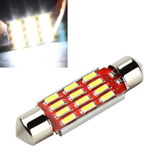 iTimo 1pcs 39mm LED Car Reading Lights C5W DC12-24V 4014 SMD 12 LED Auto Licence Plate Lamp Light Source Car-styling Accessories(China (Mainland))