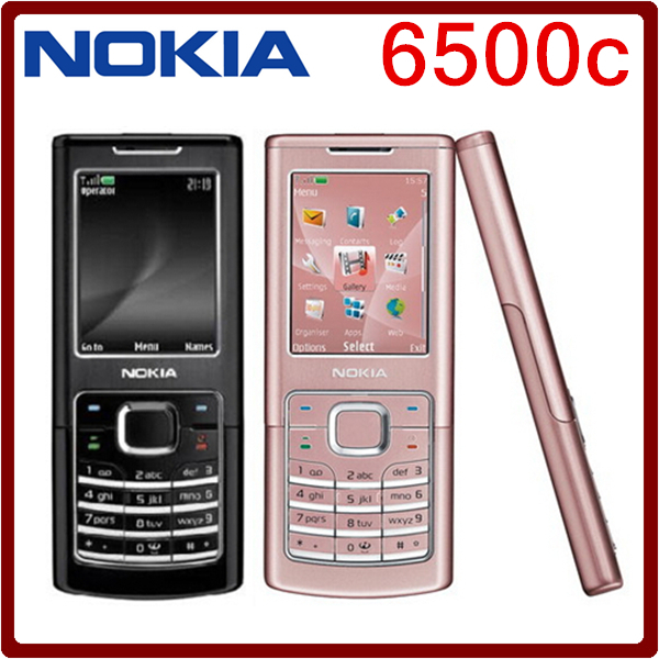 6500C Original Nokia 6500C Bluetooth GSM 3G Unlocked Cell Phone One year warranty Free Shipping(China (Mainland))