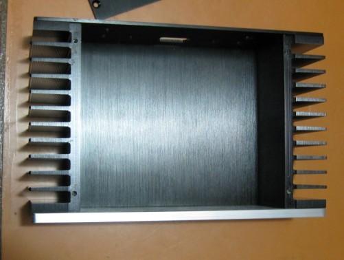 S-2607 Full Aluminum amp Enclosure / mini amplifier BOX/ PSU Case silver