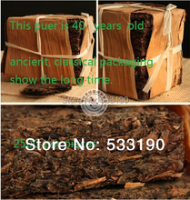 Made in1970 raw pu er tea,250g raw puer tea,ansestor antique,honey sweet,well-stacked,dull-red Puerh,ancient tree,Free Shipping