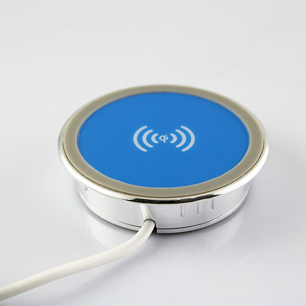 Desktop Qi Standard Wireless Charger Charging Pad for