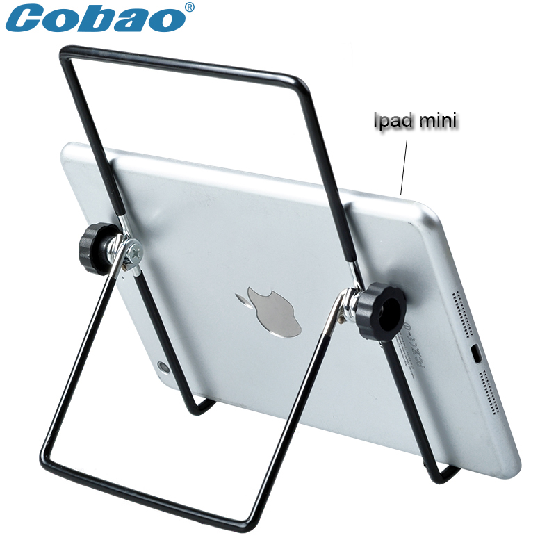 """Universal 7 8 9 10 inch tablet holder metal tablet PC stand holder suitable for 9.7"""" ipad pro ipad Air 2 ipad mini 4(China (Mainland))"""