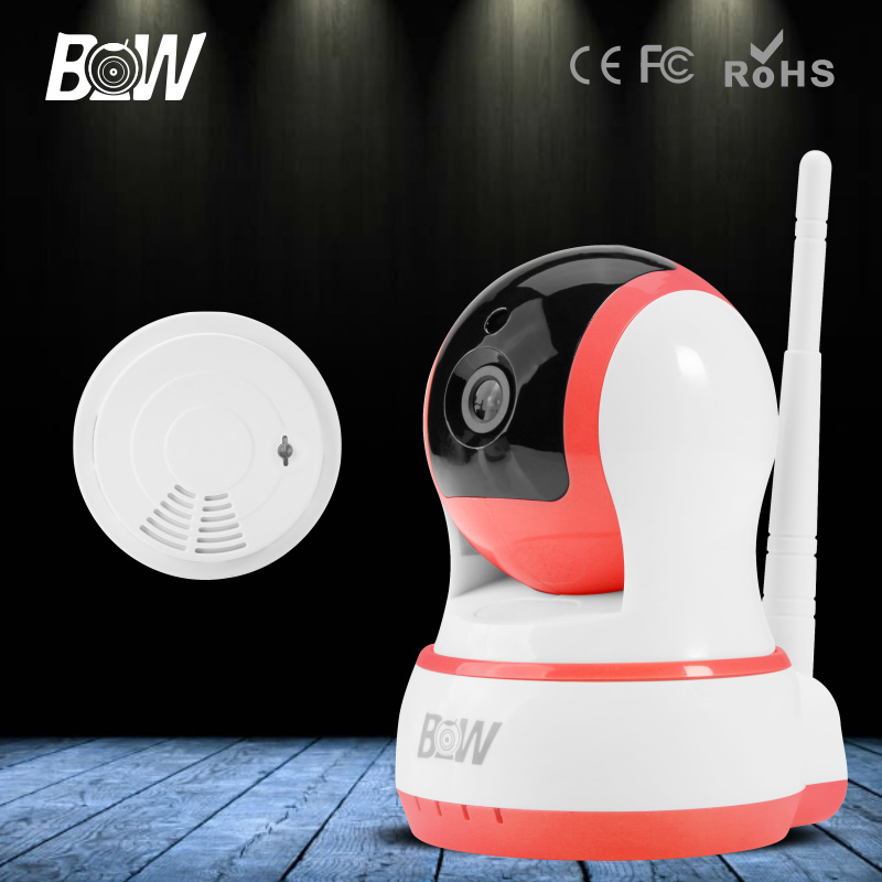 BW 1280*720P P/T Portable with SD Card IP Kamera Wifi Smart P2P Baby Monitor Endoscope Camera Free IOS &amp; Android &amp; Pad APP <br><br>Aliexpress