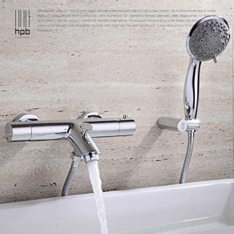 Hpb cobre agua fr a y caliente mezclador termost tico de for Mezclador agua para ducha