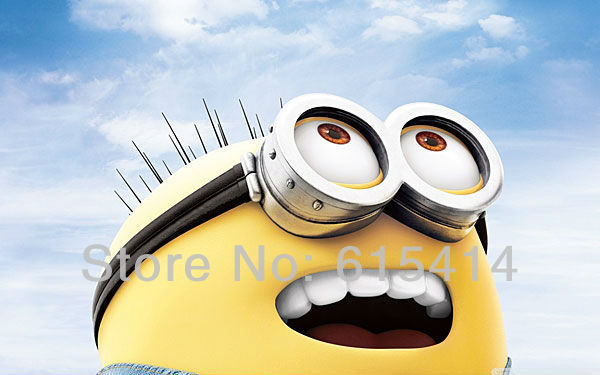 "12 Despicable Me 2 38""x24"" inch wall Poster with Tracking Number"