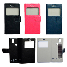Buy Hot Sale Single View Window Flip PU Leather Case Cover UHANS S1 Touch ID Smat Phone for $2.99 in AliExpress store