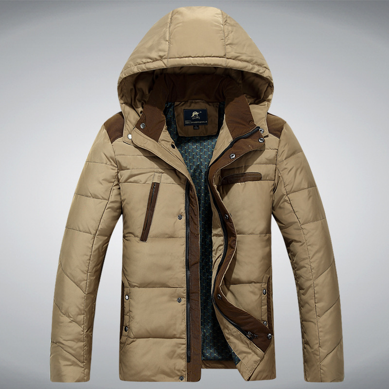 2015 New Fashion Parka Winter Coat Men Jacket Men s Thickening 90 White Duck Down Jacket