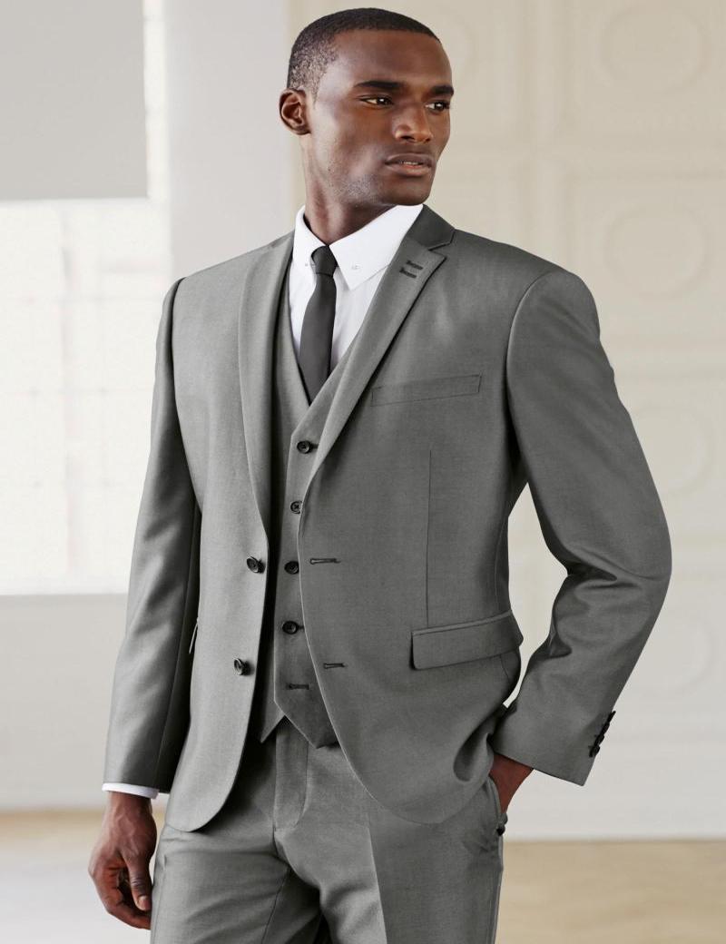 Modern Top Selling Groom Tuxedos,Grey Wedding Suit Ceremony Suit Groomsman Suit Boys Suit (Jacket+Pants+Tie+Vest)BridegroomОдежда и ак�е��уары<br><br><br>Aliexpress