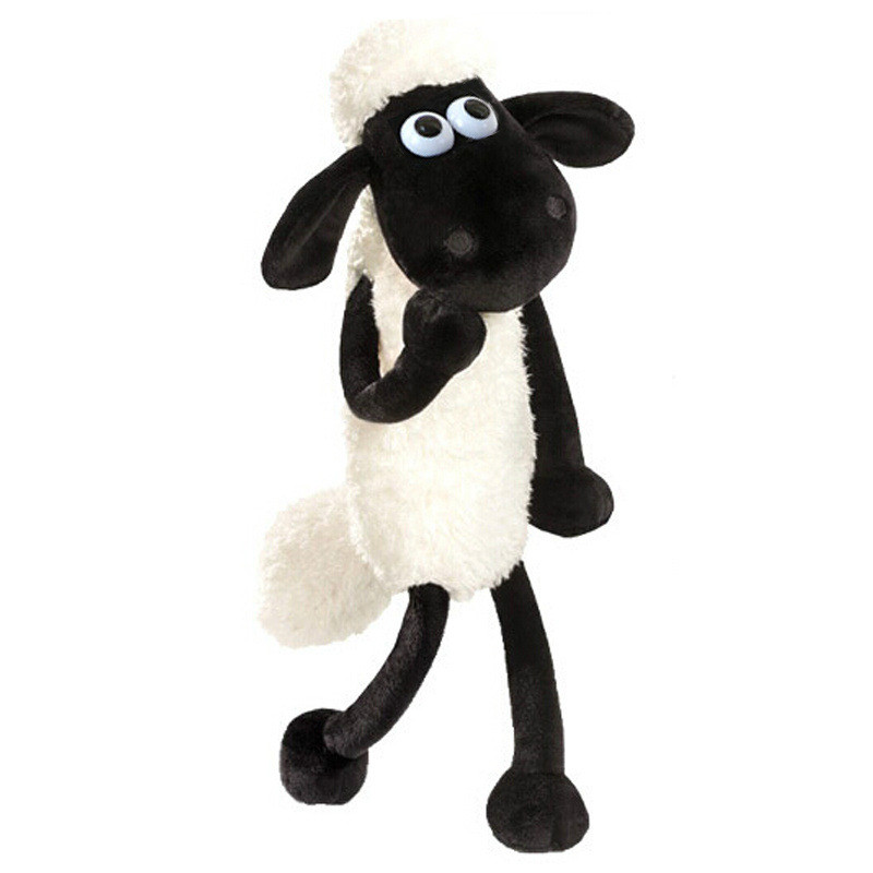2016 New Hot Cute Shaun Sheep Lamb Plush Toys Doll for Girl Children's Baby Birthday Holiday Gift Send Kids Lovely Soft Kid Toy(China (Mainland))