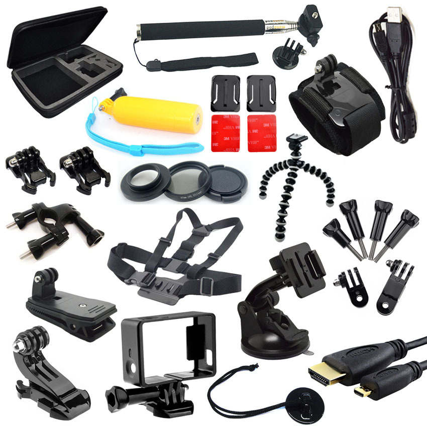 New 2014 Go Pro Hero 3 Accessories 360 Degree Gopro Tripod With Arm Strap Mount
