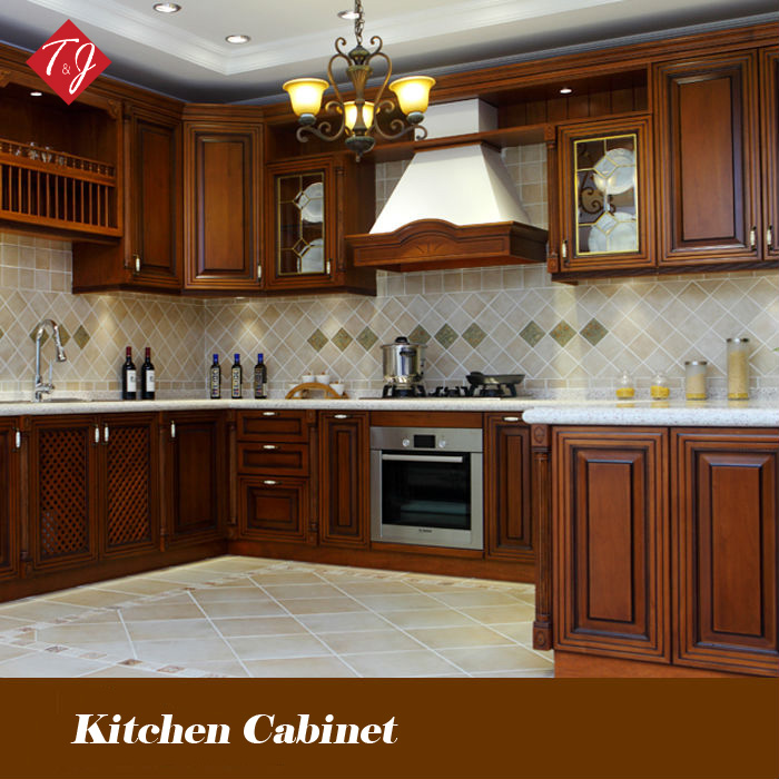 Environmental Friendly Kitchen Wooden Furniture Kitchen Cabinets