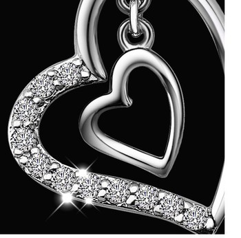 most beautiful most popular Silver qian hui han edition fashion 925 sterling silver necklace women brief paragraph collarbone