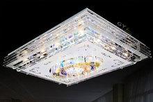 AC220-240V 95*75cm Remote Control LED Crystal Ceiling lights Lustre Modern Lamps Fixtures big Larger home lighting  mp3 function(China (Mainland))