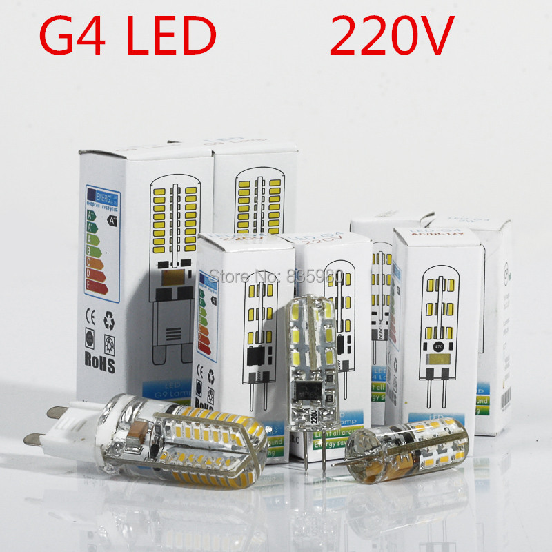 10pcs/lot LED G4 Lamp 3W SMD3014 led crystal lamp110V  warm/cool white Energy Saving candle bulb Free Shipping<br><br>Aliexpress