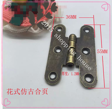 butterfly plate hinge plate hinge flap hinges table furniture hardware fittings(China (Mainland))